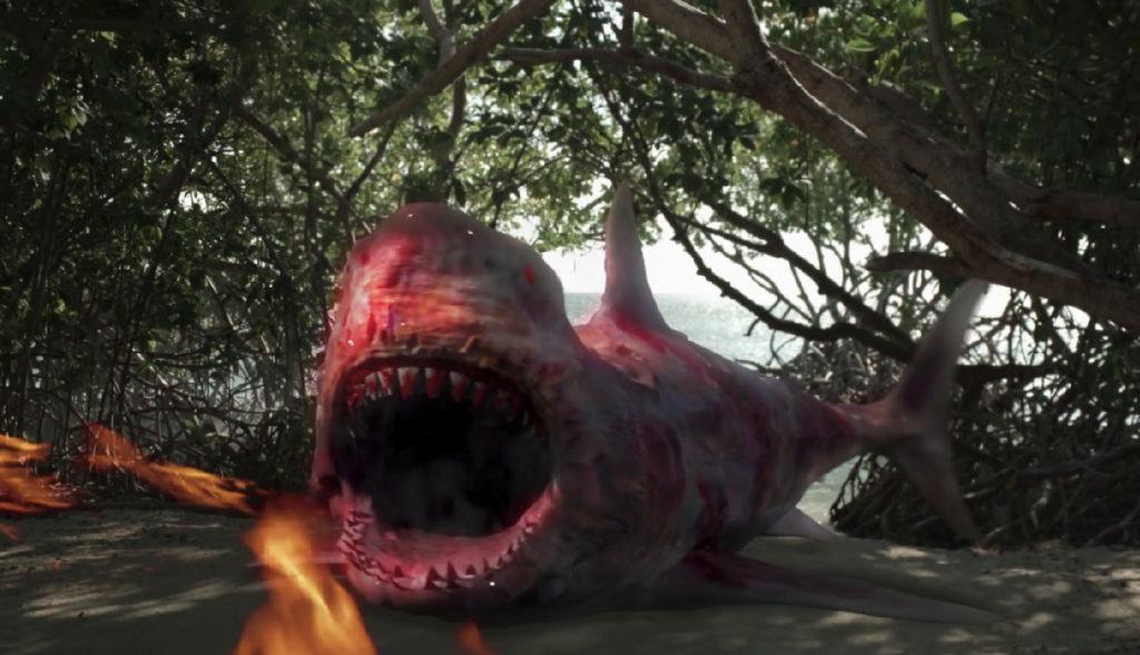 特殊能力を兼ね備えたサメ映画サムネイル