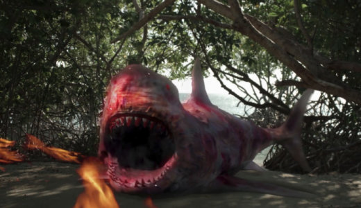 【噛み付くだけが華じゃない】特殊能力を兼ね備えたサメ【サメ映画特集⑥】
